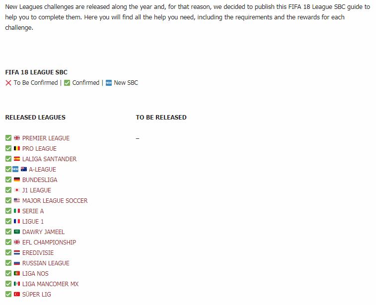 fifa 18 la liga sbc guide