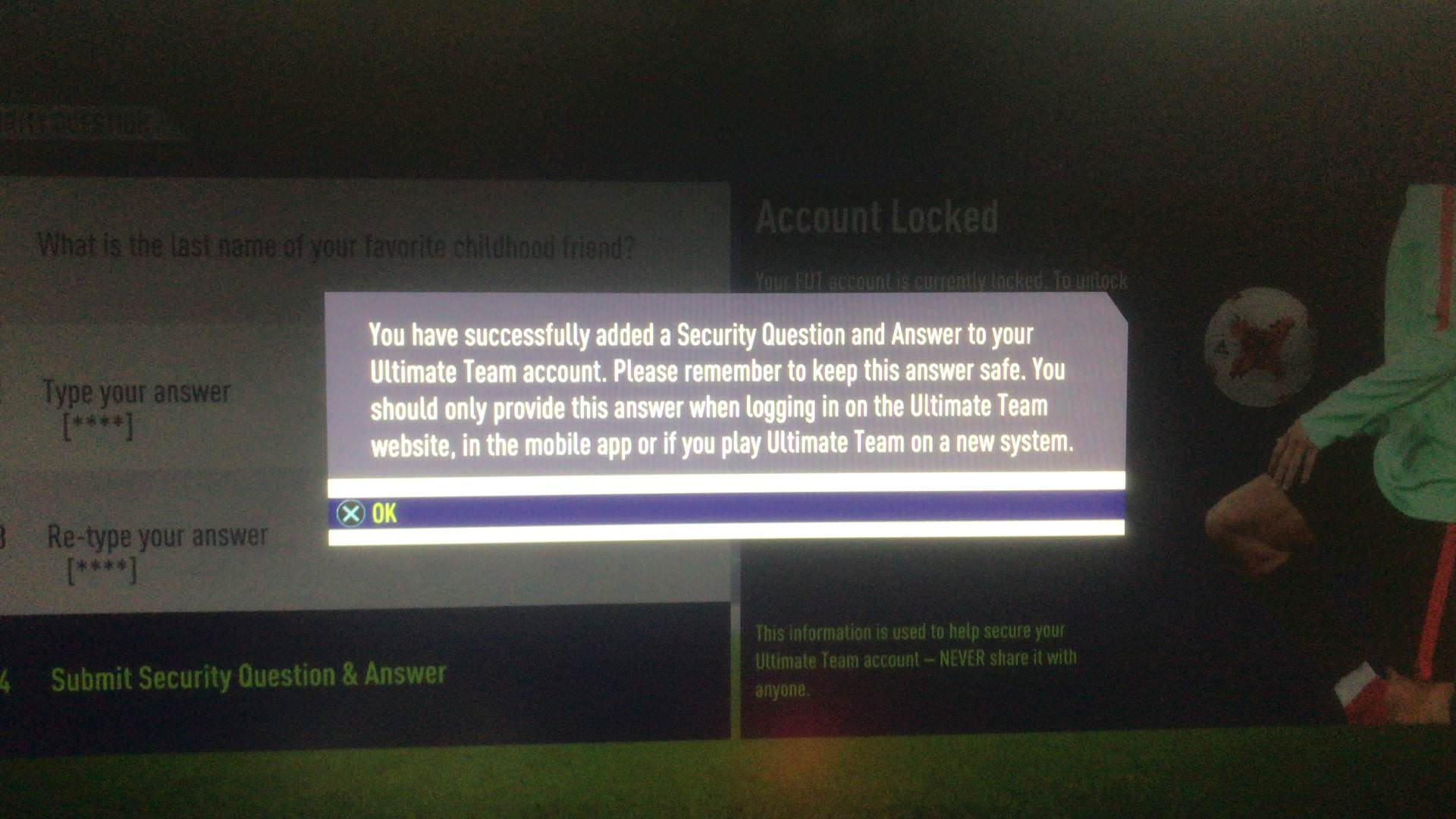 What Should I Do If I Forgot My Fut Security Answer